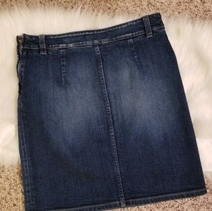 Closed Skirts - NWT CLOSED ITALY CROPPED RAY DENIM SKIRT 25